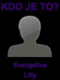 kdo je to Evangeline Lilly?
