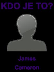 kdo je to James Cameron?