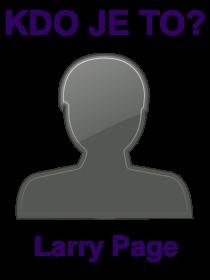 kdo je to Larry Page?