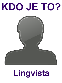 kdo je to Lingvista?