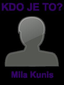 kdo je to Mila Kunis?