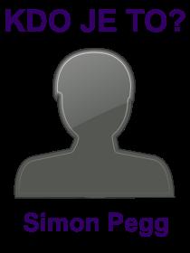 kdo je to Simon Pegg?