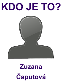 kdo je to Zuzana Čaputová?